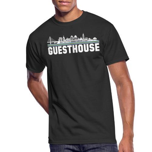 Guesthouse - Oakland Skyline - Men's 50/50 T-Shirt