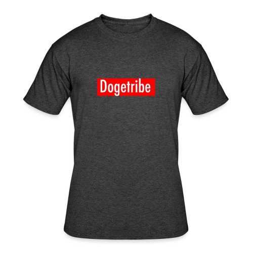 Dogetribe red logo - Men's 50/50 T-Shirt