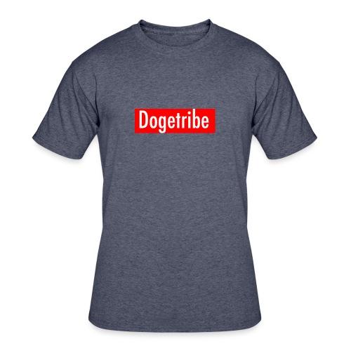 Dogetribe red logo - Men's 50/50 T-Shirt
