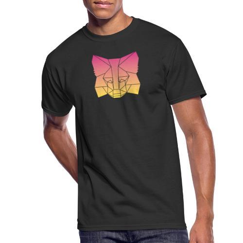 Sunset Fox - Men's 50/50 T-Shirt