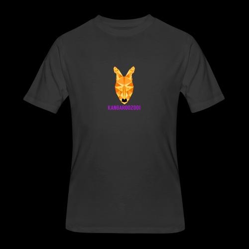 Kangaroozoo1 Logo & Name - Men's 50/50 T-Shirt