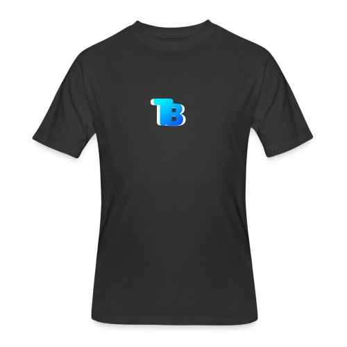 Trublu Overlapping letter Design - Men's 50/50 T-Shirt
