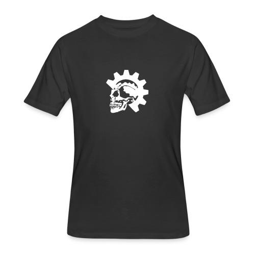 Gearhead Skull - Men's 50/50 T-Shirt