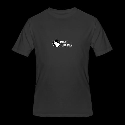 Music Tutorials Logo - Men's 50/50 T-Shirt