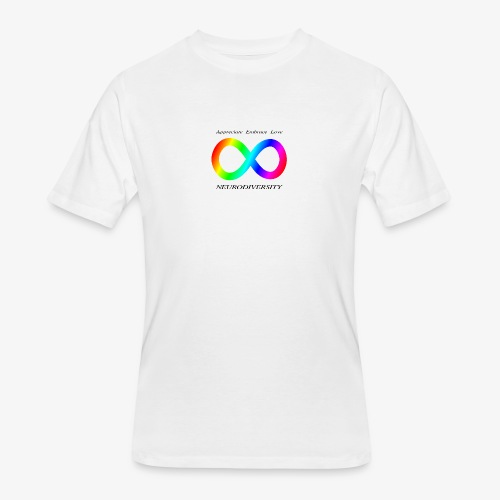 Embrace Neurodiversity - Men's 50/50 T-Shirt
