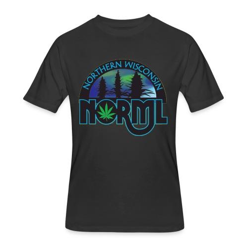 Northern Wisconsin NORML Official Logo - Men's 50/50 T-Shirt