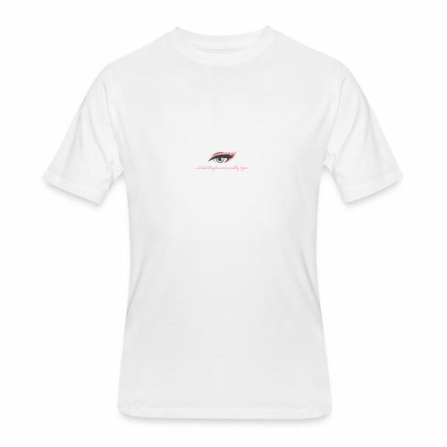 thick thighs & pretty eyes - Men's 50/50 T-Shirt