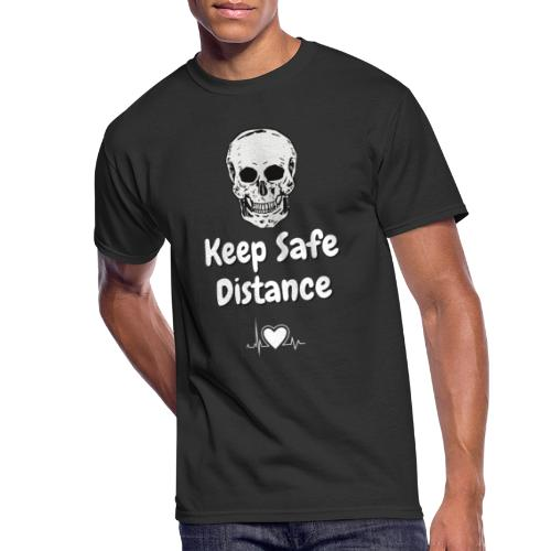 Keep Safe Distance - Men's 50/50 T-Shirt