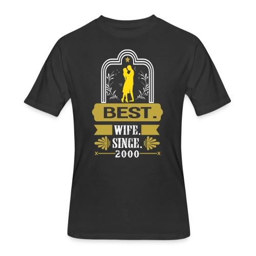 Best Wife Since 2000 - Men's 50/50 T-Shirt