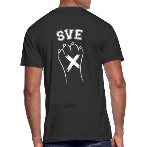 SVE Vegan Straight Edge Montreal SXE - Men's 50/50 T-Shirt
