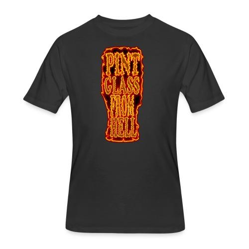 Pint Glass From Hell - Men's 50/50 T-Shirt