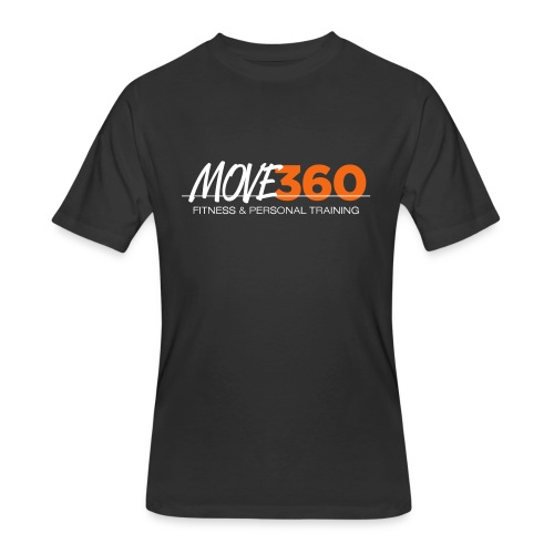 Move360 Logo LightGrey - Men's 50/50 T-Shirt