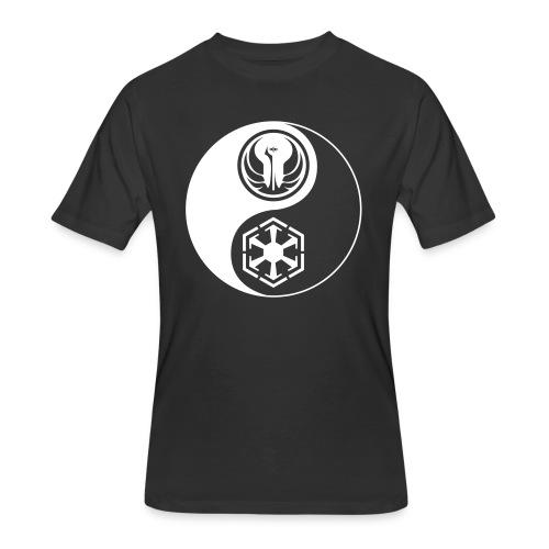 Star Wars SWTOR Yin Yang 1-Color Light - Men's 50/50 T-Shirt
