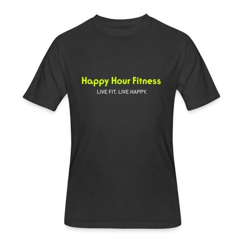 HHF_logotypeandtag - Men's 50/50 T-Shirt