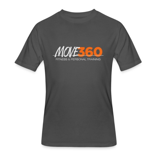 Move360 Logo LightGrey - Men's 50/50 T-Shirt
