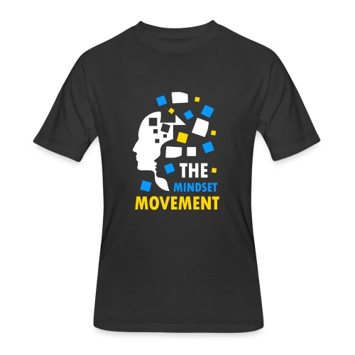 Mindset DesinHD Copy png - Men's 50/50 T-Shirt