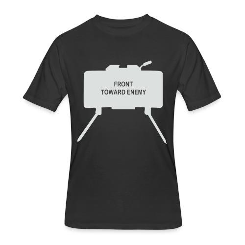 Claymore Mine (Minimalist/Light) - Men's 50/50 T-Shirt