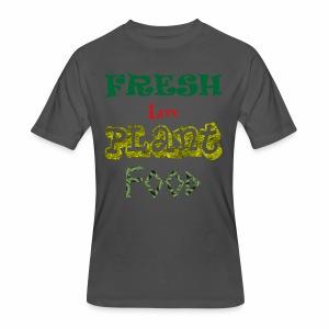 Fresh Live Plant Food - Men's 50/50 T-Shirt