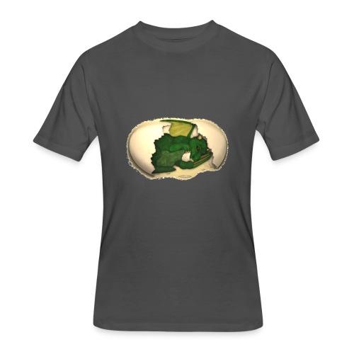 The Emerald Dragon of Nital - Men's 50/50 T-Shirt