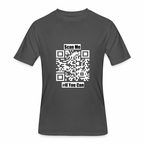 Scan Me - Men's 50/50 T-Shirt