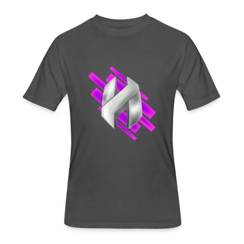 Abstract Purple - Men's 50/50 T-Shirt