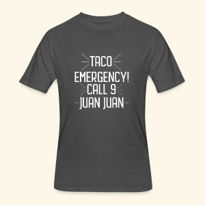 taco emergency - Men's 50/50 T-Shirt