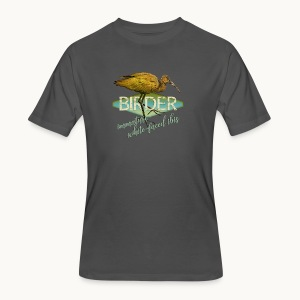 BIRDER - White-faced ibis - Carolyn Sandstrom - Men's 50/50 T-Shirt