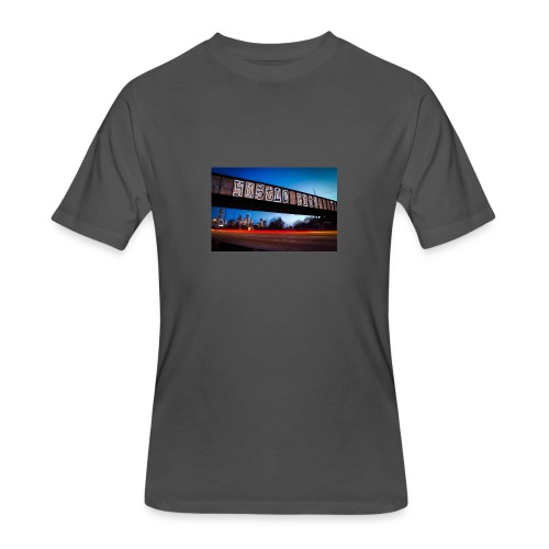 Husttle City Bridge - Men's 50/50 T-Shirt