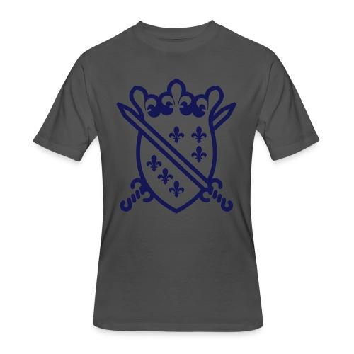 The Dragon Of Bosnia - Štit sa mačevima - Men's 50/50 T-Shirt