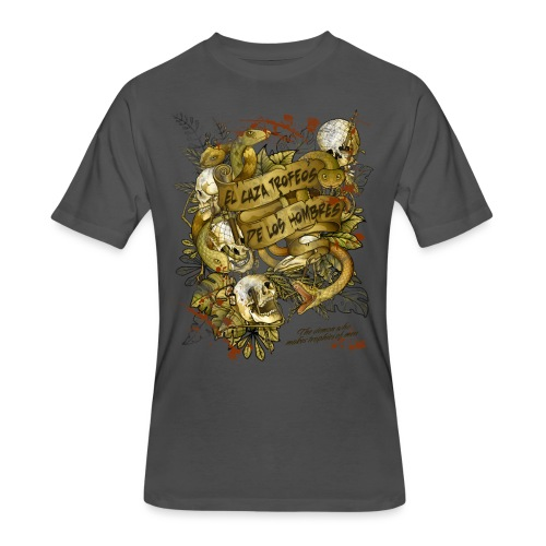 El caza Golden - Men's 50/50 T-Shirt