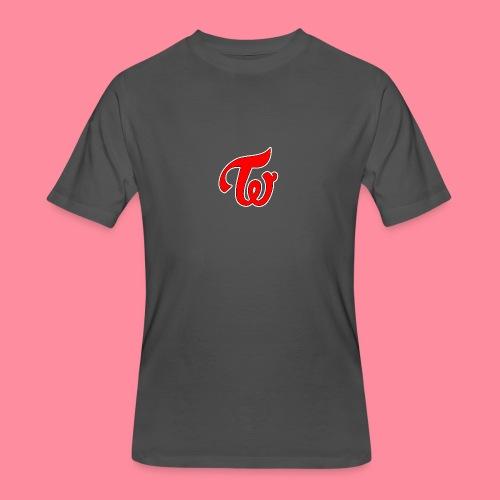TWICE Logo - Men's 50/50 T-Shirt