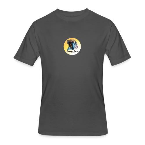 Boxer Rex logo - Men's 50/50 T-Shirt