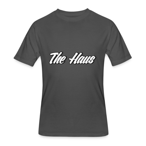 The Haus Logo - Men's 50/50 T-Shirt