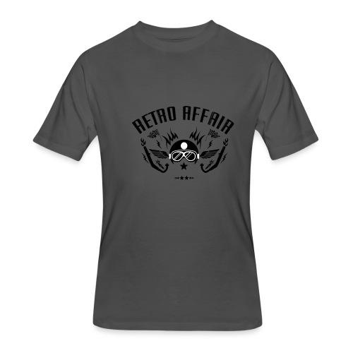 Retro Pipes - Men's 50/50 T-Shirt