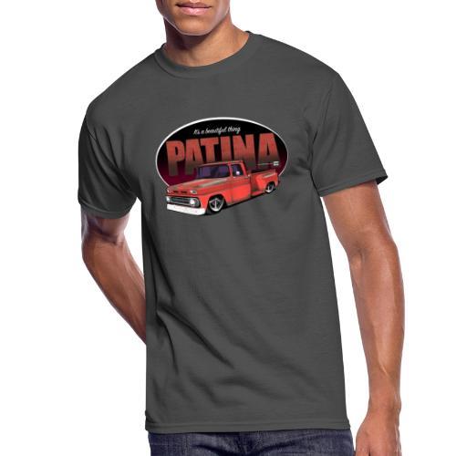 StepsidePatinaRED - Men's 50/50 T-Shirt