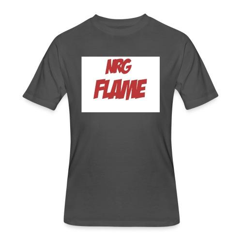 FLAME - Men's 50/50 T-Shirt