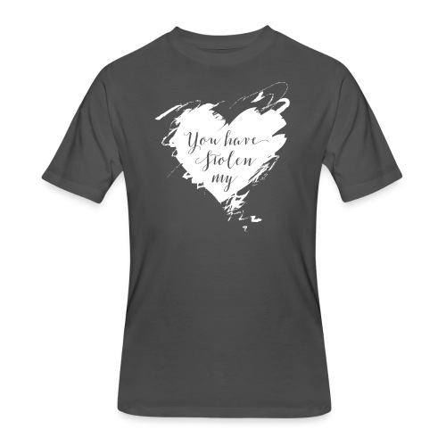 You have Stolen My Heart (White) - Men's 50/50 T-Shirt