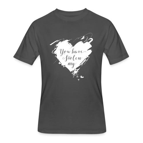 You have Stolen My Heart (White) - Men's 50/50 T-Shirt