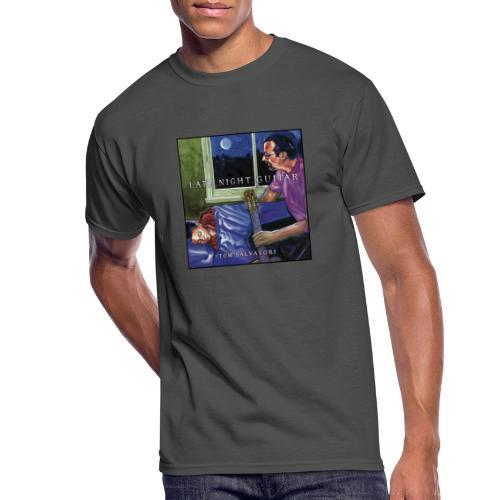 Cover Late Night Guitar - Men's 50/50 T-Shirt