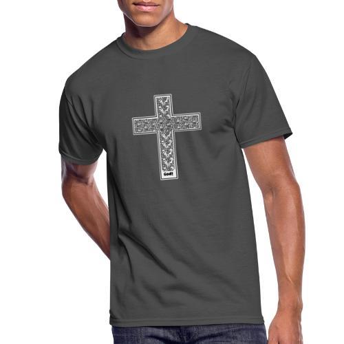 Jesus cross. I'm no longer a slave to fear. - Men's 50/50 T-Shirt