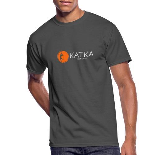 katka_logo_full_c - Men's 50/50 T-Shirt