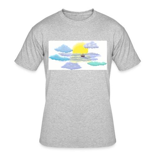 Sea of Clouds - Men's 50/50 T-Shirt