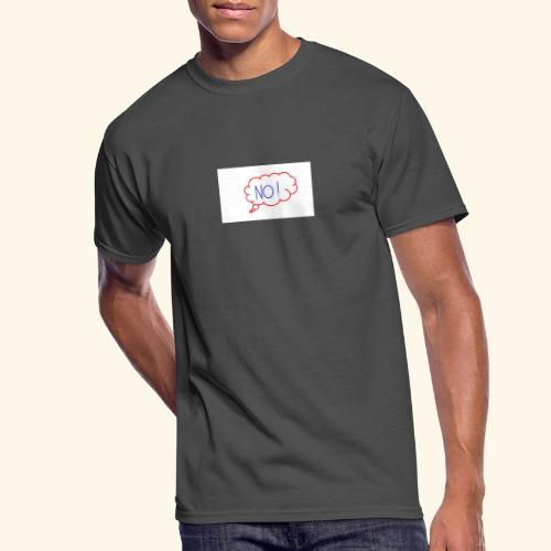 NO! - Grace Sakyi - Men's 50/50 T-Shirt