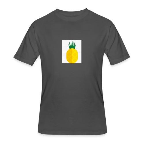 Pixel looking Pineapple - Men's 50/50 T-Shirt