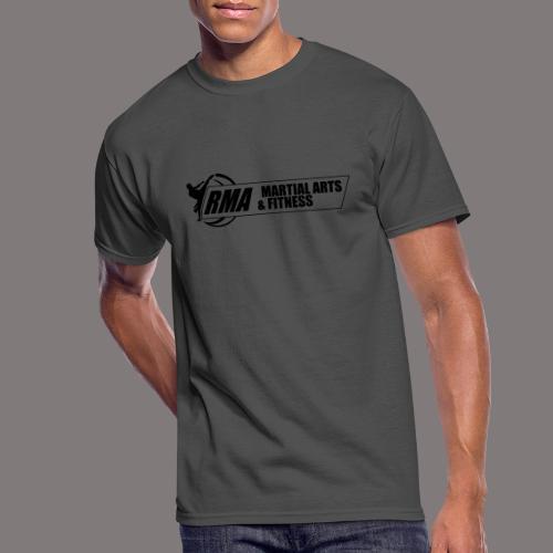 RMA-full-logo-Front-1clr- - Men's 50/50 T-Shirt