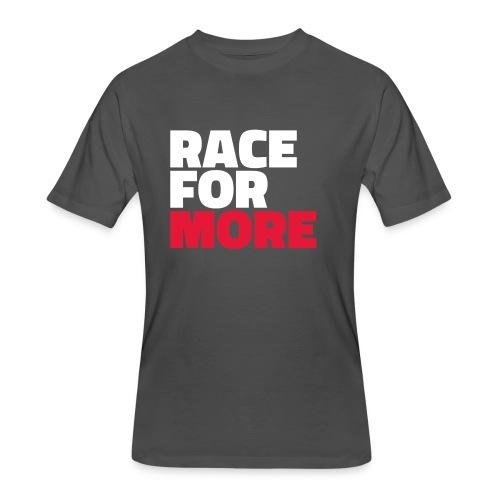 RACE FOR MORE_V3 - Men's 50/50 T-Shirt