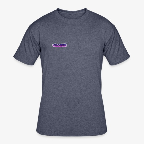 Velosifer Logo Made By Emerald! - Men's 50/50 T-Shirt