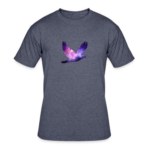 Galaxy bird - Men's 50/50 T-Shirt