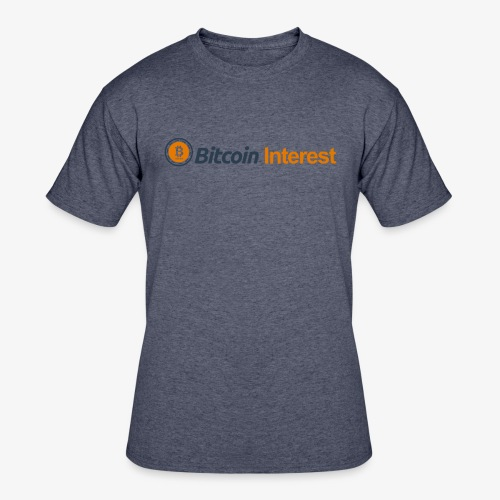 BitcoinInterest - Men's 50/50 T-Shirt
