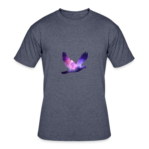 Galaxy bird - Men's 50/50 T-Shirt